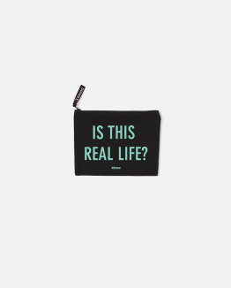 Black Reallife pouch