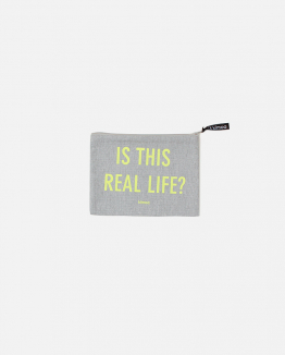 Grey Reallife pouch