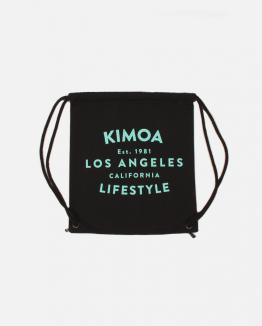 Black Lifestyle drawsting bag