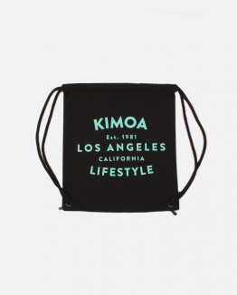 Black Lifestyle drawsting bag
