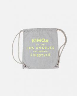 Grey Lifestyle drawsting bag