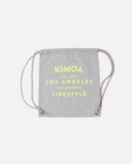 Grey Lifestyle drawsting bag