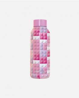 Botellín Rosa Bricks