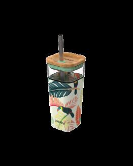 Toucans Glass cup