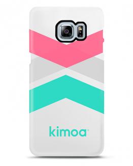 Kimoa case cover tricolor stripes for Galaxy S6 One Size Unisex