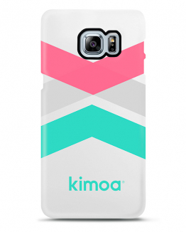 Kimoa cover tricolor stripes for Galaxy S6 One Size Unisex