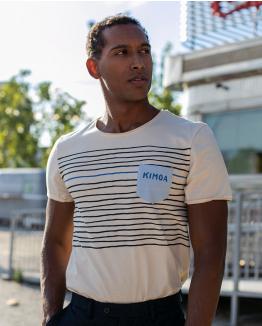 Camiseta Desertview beige