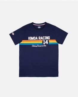 Kimoa Racing 14 blue tee