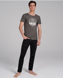 Camiseta L.A. I'm coming gris