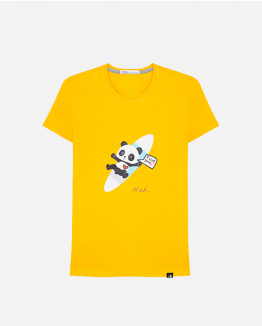 Limited Edition yellow T-shirt by Domingo Zapata