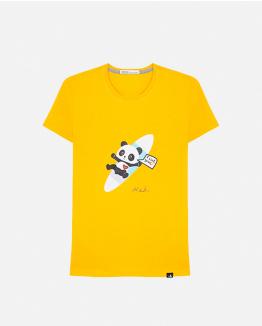 Camiseta Limited Edition by Domingo Zapata amarilla