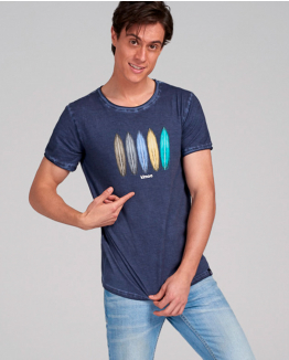 Rainbow surfer Tee