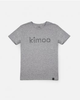 Camiseta Streaky gris