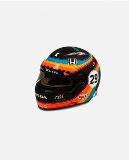 Mini casco Indy 2017 Escala 1/2