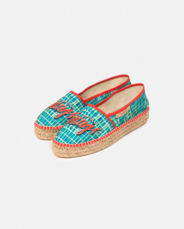 Green Palm Springs espadrille