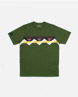 Front Multicolour Band Verde