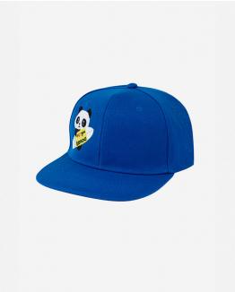 Panda Kimoa cap by Domingo Zapata blue One Size Unisex