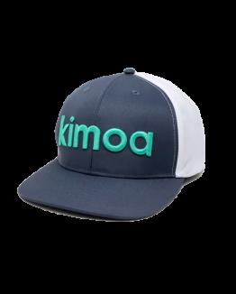 Logo Blue-White Cap