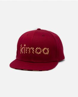 Kimoa Streaky Burgundy Cap