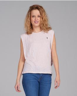 Camiseta Happy inside rosa