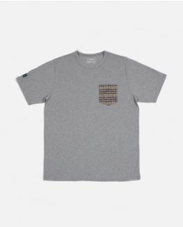 Jacquard pocket Grey