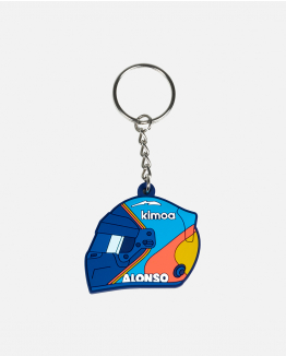 Fernando Alonso Helmet Keychain