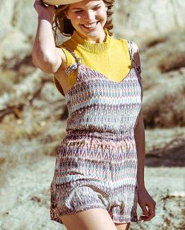 Ethnic Rancho Mirage Playsuit