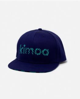 Gorra Kimoa Streaky Azul Personalizable