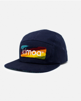 Gorra Kimoa Striped logo Personalizable