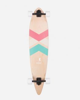 Skate longboard wood blanco Unico Unisex