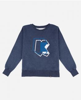 Blue Double K sweatshirt