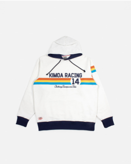 Cream Kimoa Racing 14 Hoodie