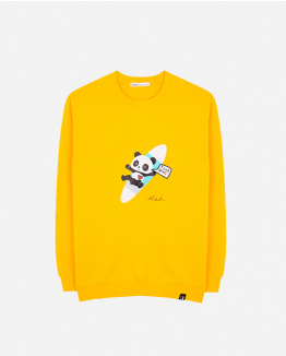 Limited Edition yellow sweater by Domingo Zapata