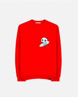 Limited Edition red sweater by Domingo Zapata