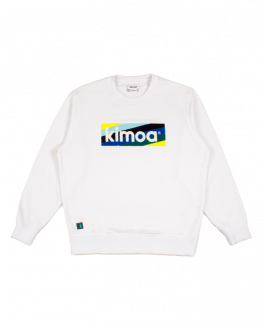 Striped Logo Blanco