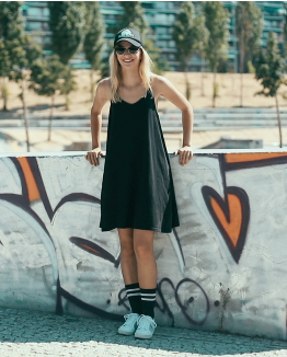 Black San Andreas dress